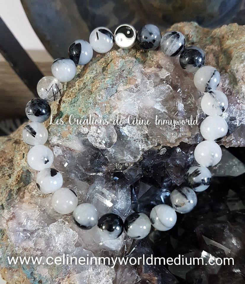 Bracelet yin et yang