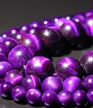Œil de tigre (coloré violet)