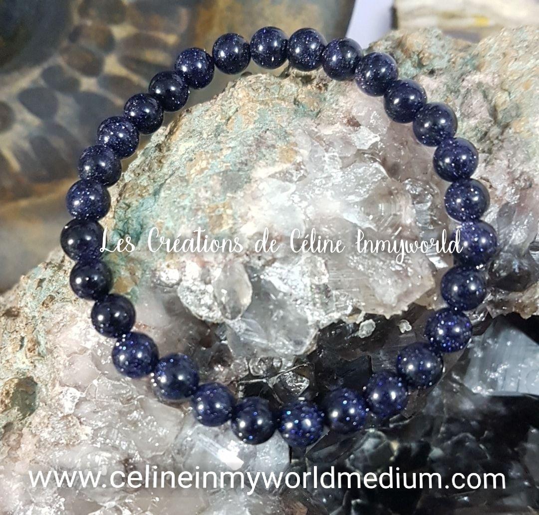 Bracelet en pierre de nuit