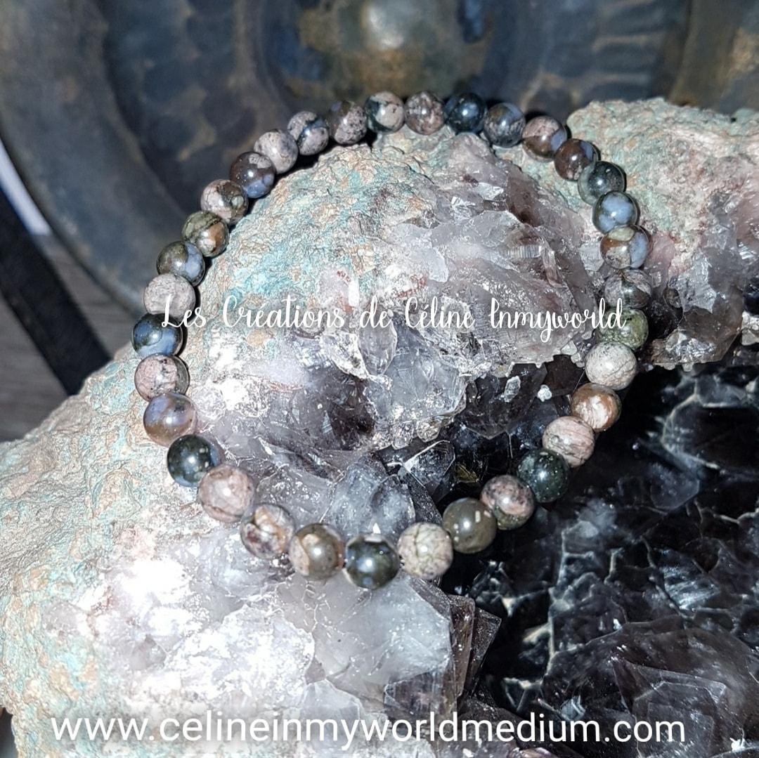 Bracelet pour le calme et la Sérénité en Vulcanite