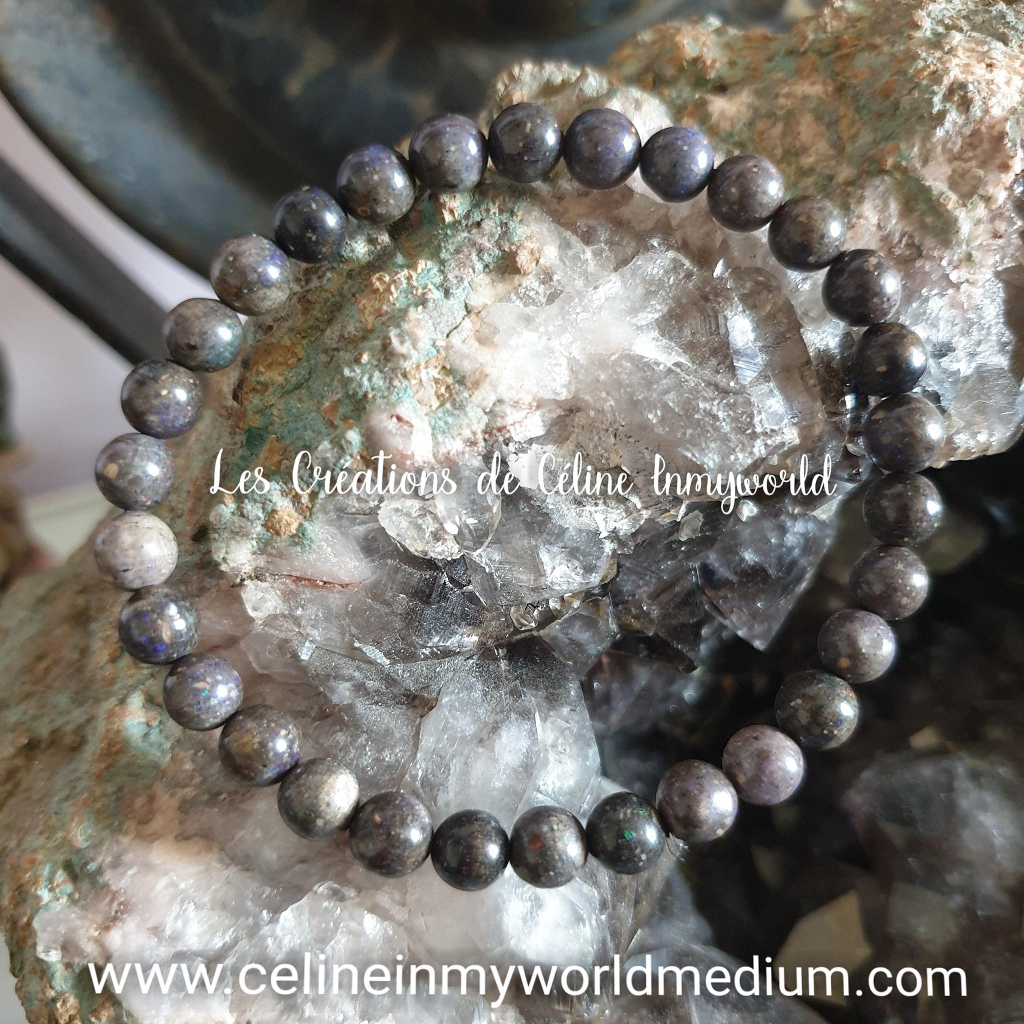 Bracelet pour l'espoir et la joie, en Opale noble du Honduras
